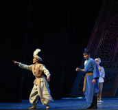 "An uncertain future-Dance drama ""The Dream of Maritime Silk Road"". Dance drama ""The Dream of Maritime Silk Road"" centers on the plot of two generations Stock Photos"