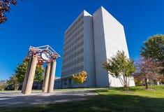 UNCG的杰克逊图书馆 图库摄影