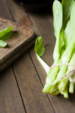 Unch of fresh green Chinese cabbage Stock Photo