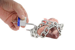 Unchain my heart Stock Image