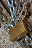 Unchained padlock Royalty Free Stock Images