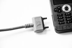 Uncharged cellphone Stock Photography