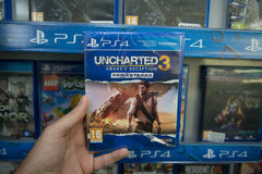 Uncharted 3 Drakes deception remastered Stock Photo