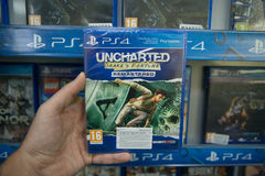 Uncharted Drakes fortune remastered Stock Images
