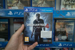 Uncharted a Thief`s end Royalty Free Stock Photo
