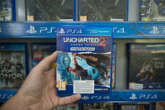 Uncharted 2 Among thieves remastered Stock Image