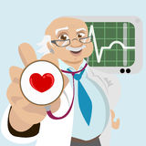 Uncle doctor Royalty Free Stock Images