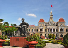 Uncle Ho, Peoples' Committee Building, Vietnam Royalty Free Stock Images