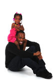 Uncle and Niece Royalty Free Stock Photography