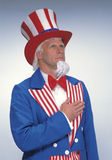 Uncle Sam Stockbild