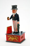 Uncle Sam. Bank stock images