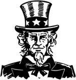 Uncle Sam 3 royalty free illustration