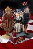 Uncle Sam Antique stock photo