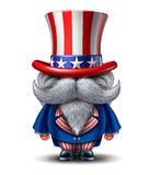 Uncle Sam Character Royalty Free Stock Photo
