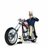 Uncle Sam Chopper 1 Royalty Free Stock Photo