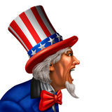 Uncle Sam Communication Royalty Free Stock Photos