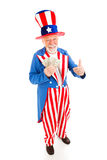 Uncle Sam - Economic Recovery Stock Image