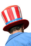 'Uncle Sam' in funny hat Royalty Free Stock Images