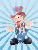 Uncle Sam Grunge Vector Art Royalty Free Stock Image