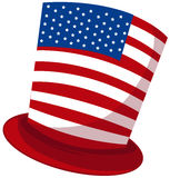 Uncle sam hat Royalty Free Stock Photo