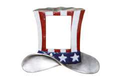 Uncle sam hat cylinder isolated. American Royalty Free Stock Photo