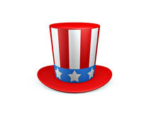 Uncle sam hat of usa Royalty Free Stock Photography