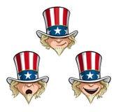 Uncle Sam Head Stock Photos