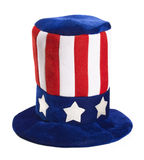 Uncle sam's hat Stock Photography