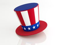 Uncle Sam's Hat Royalty Free Stock Photography