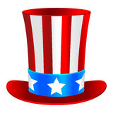 Uncle Sam's hat Stock Image