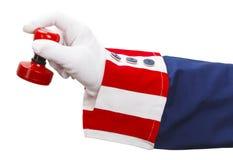 Uncle Sam Stamper stock image