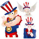 Uncle Sam Vector Illustration Stock Photos