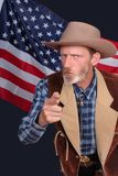 Uncle Sam Wünscht Sie Lizenzfreie Stockbilder