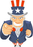 Uncle Sam wants you. Illustration Stock Image