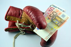 Unclean boxing Royalty Free Stock Photo