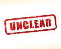 Unclear text buffered Royalty Free Stock Photos