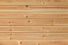 Uncolored new wooden wall, background texture Stock Photography