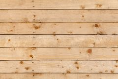 Uncolored rough wall made of pine wood Stock Image