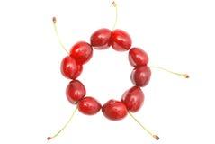 Uncommon cherries Royalty Free Stock Photography