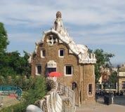 Uncommon house in Barcelona Stock Photo