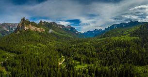 Uncompahgre National Forest Stock Image