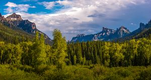 Uncompahgre National Forest Royalty Free Stock Images