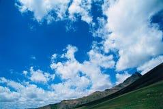 Uncompahgre Wolken Stockfoto