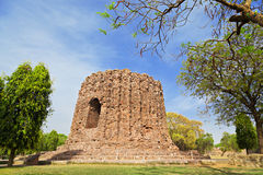 Uncompleted Alai Minar Stock Image