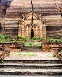Uncompleted pagoda of Mingun in Mandalay, Myanmar 4 Stock Image