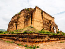 Uncompleted pagoda of Mingun in Mandalay, Myanmar 5 Royalty Free Stock Images