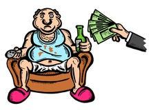 Unconditional basic income Stock Photo