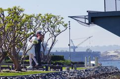 Unconditional surrender, San Diego Stock Photo