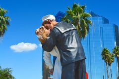 Unconditional surrender, Sarasota, Florida, USA Royalty Free Stock Images