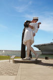 The Unconditional Surrender sculpture Royalty Free Stock Image
